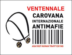 Il logo della Carovana antimafie 2014