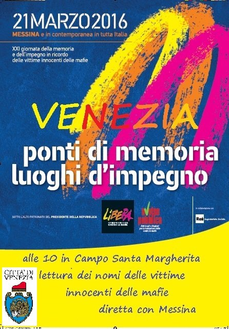 Locandina Libera Venezia