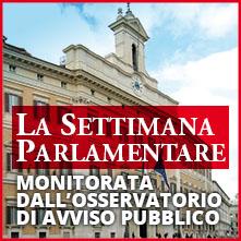 La Settimana Parlamentare