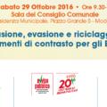 Prevenzione del crimine organizzato: il 29 ottobre a Modena terza giornata di formazione su elusione, evasione e riciclaggio