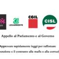 Mafie e corruzione: Rosy Bindi e Doris Lo Moro sostengono l'Appello di Avviso Pubblico, Libera, Legambiente, Cgil, Cisl e Uil