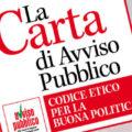 Carta di Avviso Pubblico: aderisce Gennaro Gisonna, consigliere del Comune di Palagiano (Ta)