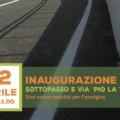 Inaugurazione Sottopasso e intitolazione via a Pio La Torre: Formigine, 22 aprile