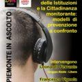 Anticorruzione e cittadinanza monitorante: il 21 novembre a Candelo (Bi) confronto e dibattito su modelli di prevenzione