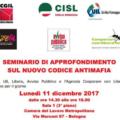 Nuovo Codice Antimafia: Avviso Pubblico oggi a Bologna per un Seminario di approfondimento