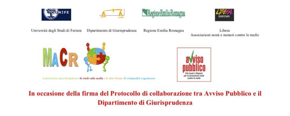 Avviso Pubblico E Universita Di Ferrara Sottoscrivono Il Protocollo