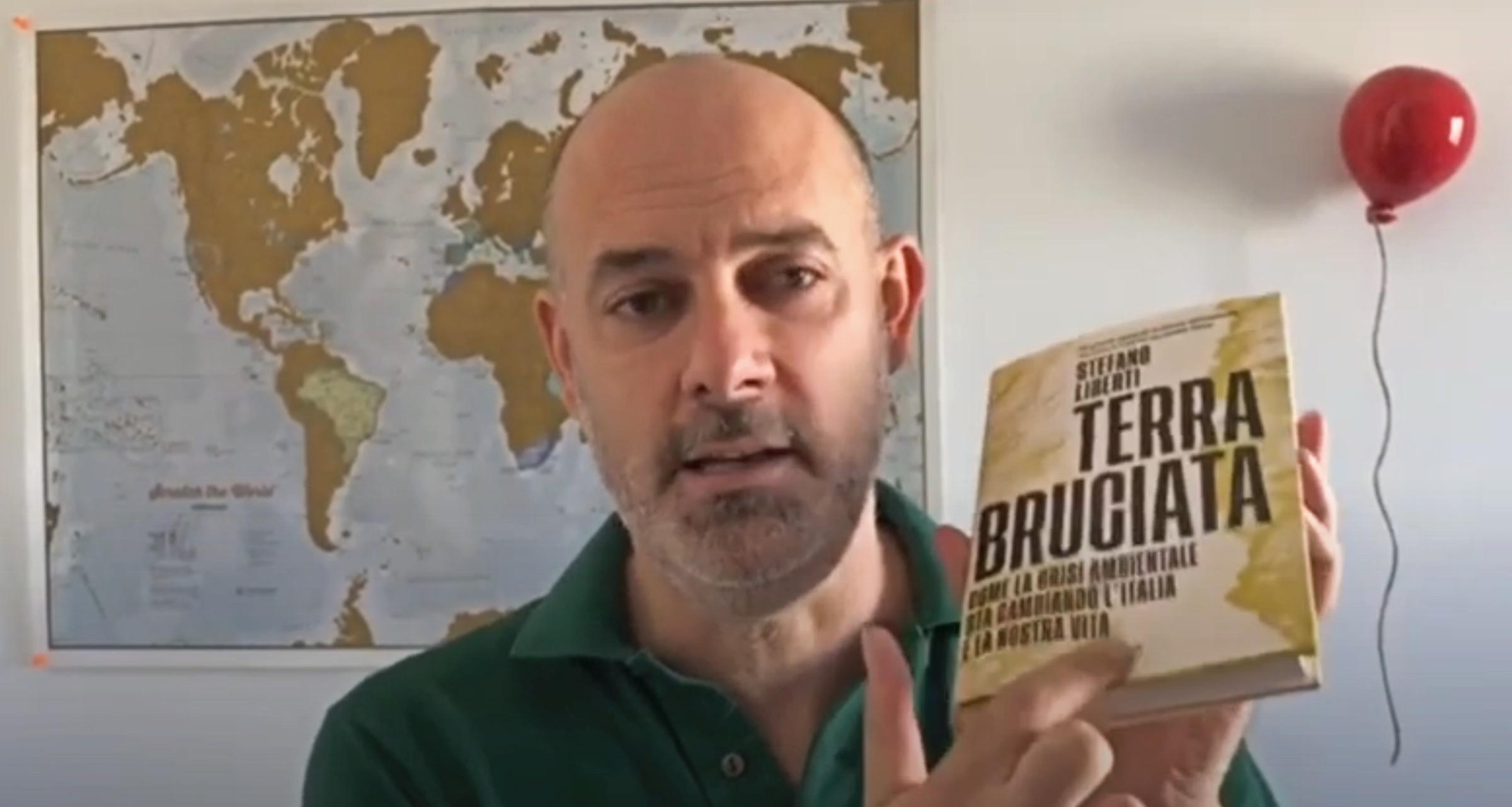 CONTAGIAMOCI DI CULTURA: IL GIORNALISTA STEFANO LIBERTI CI PRESENTA IL SUO ULTIMO LIBRO 'TERRA BRUCIATA'